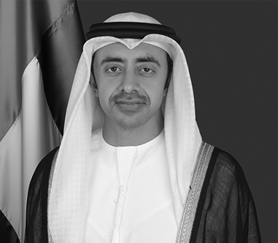 HH Sheikh Abdullah bin Zayed Al Nahyan - Minister of Foreign Affairs